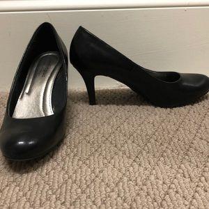 Comfort Plus- Black Heels